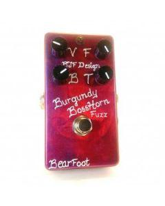 BearFoot FX Burgundy Bosshorn Fuzz