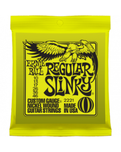 Ernie Ball 2221 Regular Slinky Nickel Wound Guitar Strings