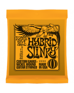 Ernie Ball 2222 Hybrid Slinky Nickel Wound Guitar Strings