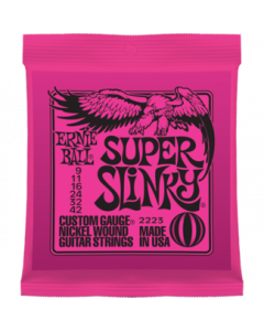 Ernie Ball 2223 Super Slinky Nickel Wound Guitar Strings