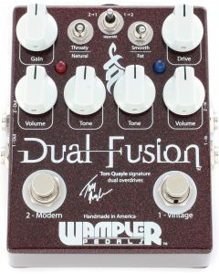 Wampler Tom Quayle: Dual Fusion Overdrive