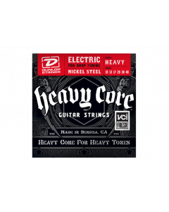 Dunlop Heavy Core Nickel Steel Guitar Strings 10-48