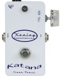 Keeley Electronics Katana Clean Boost